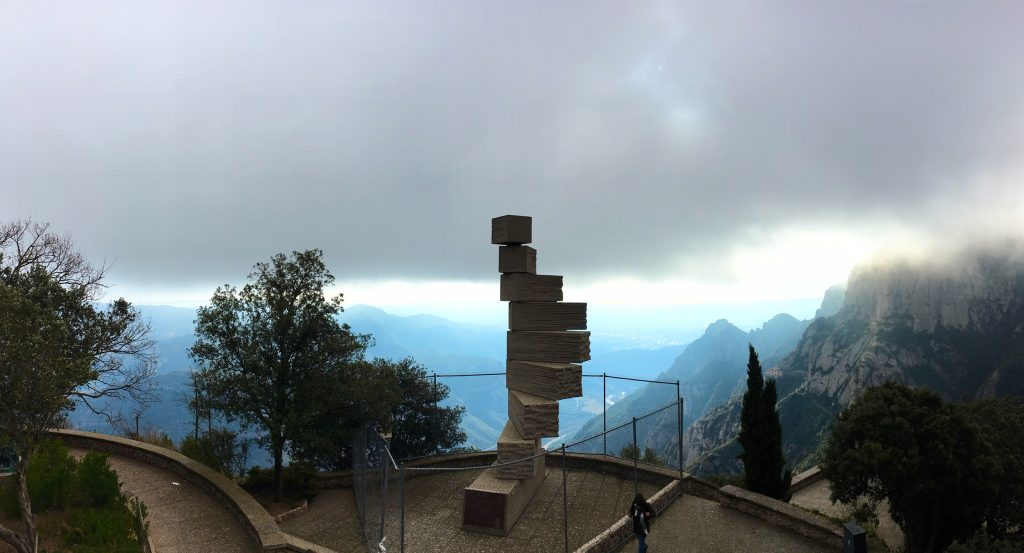 """Stairway to Heaven"" at Montserrat"