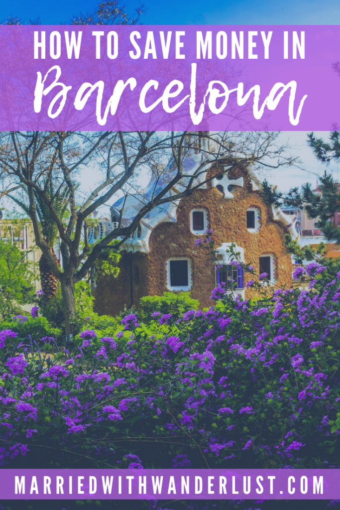 Tips for saving money in Barcelona