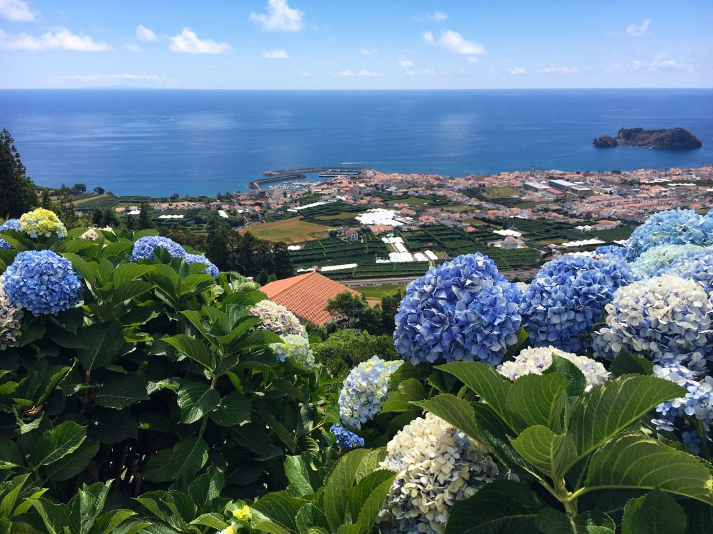 View of Vila Franca do Campo, Azores