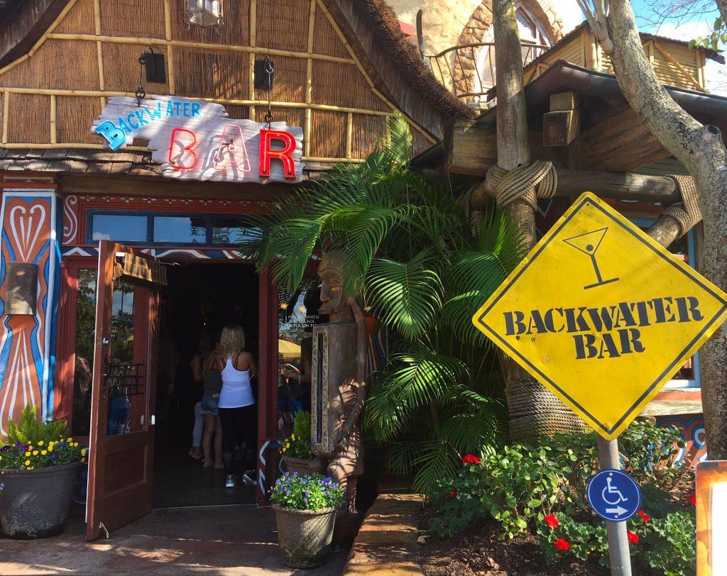 Backwater Bar at Islands of Adventure