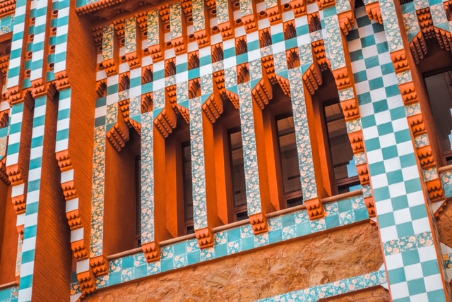 Exterior of Casa Vicens
