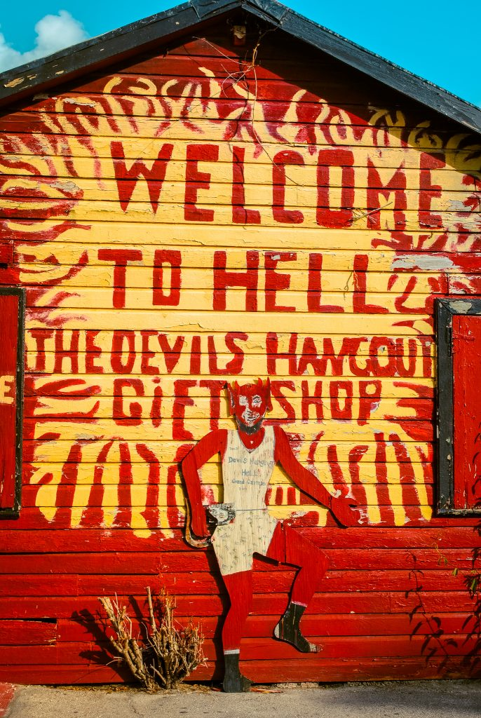 Visit Hell in Grand Cayman