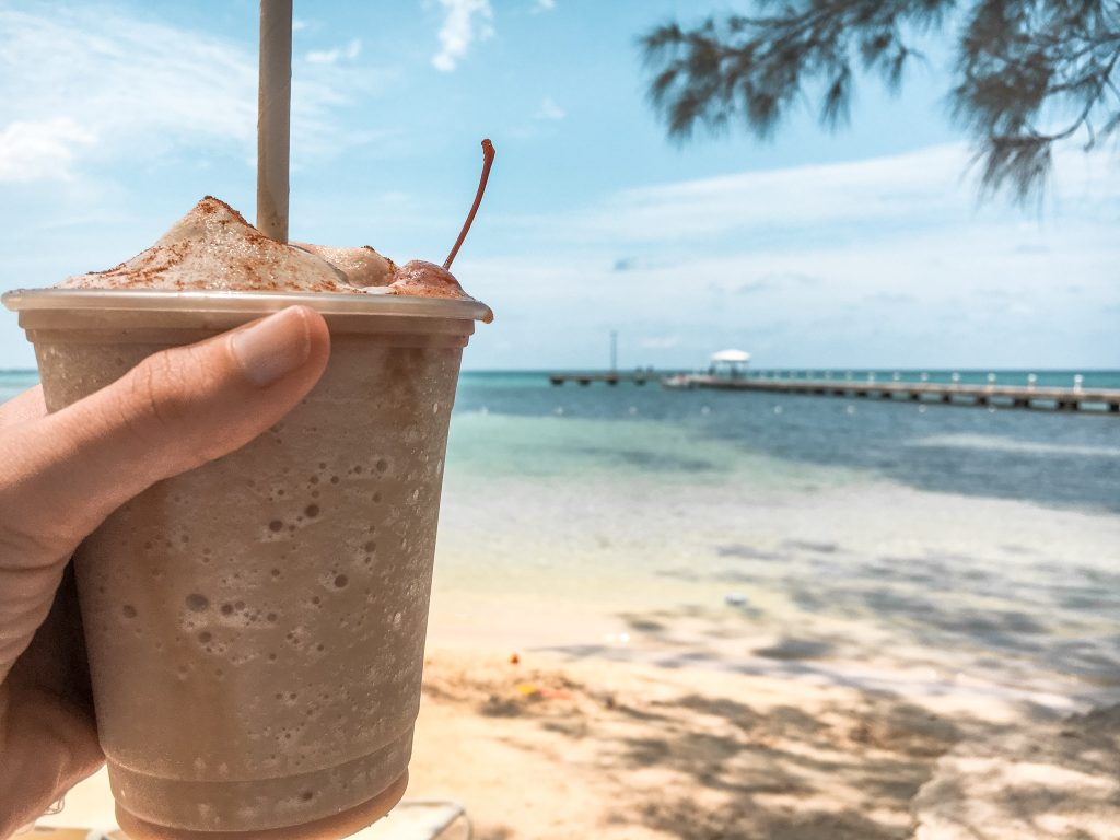 Drink a mudslide at Rum Point, Grand Gayman