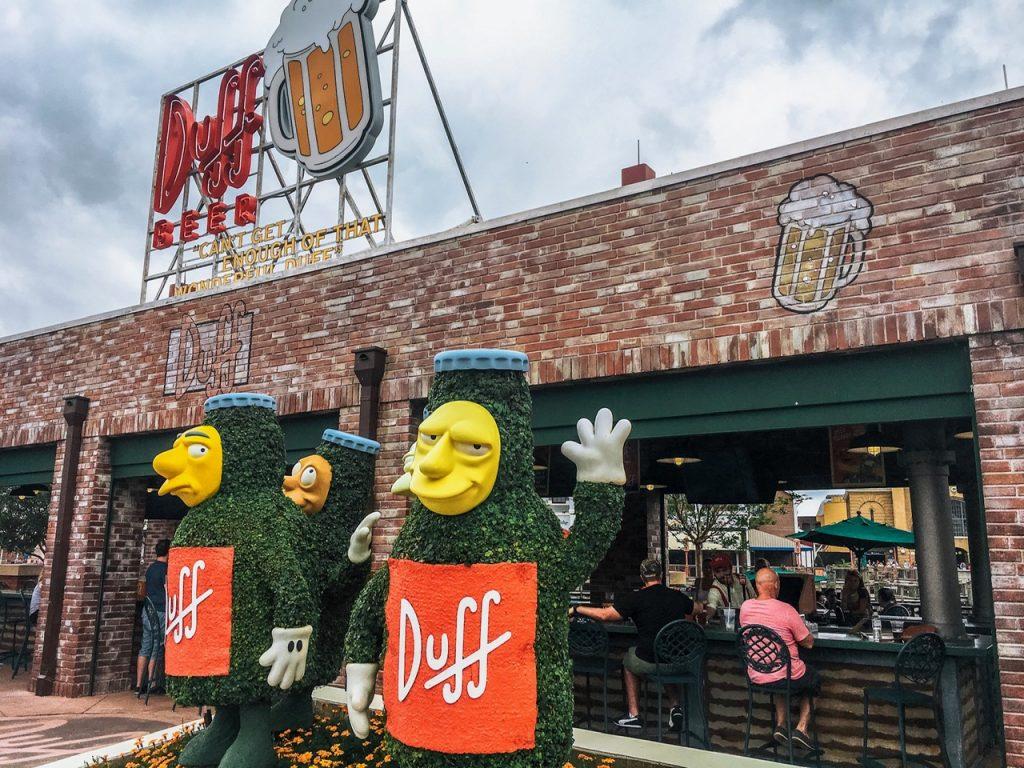 Duff Beer Garden at Universal Studios