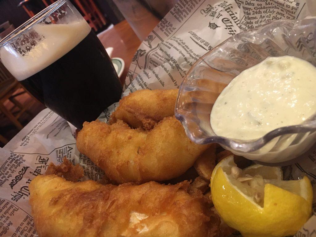 Finnegan's Irish Grill in Universal Orlando