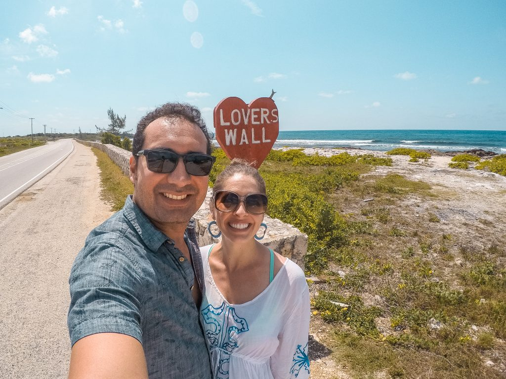 Lover's Wall in Grand Cayman