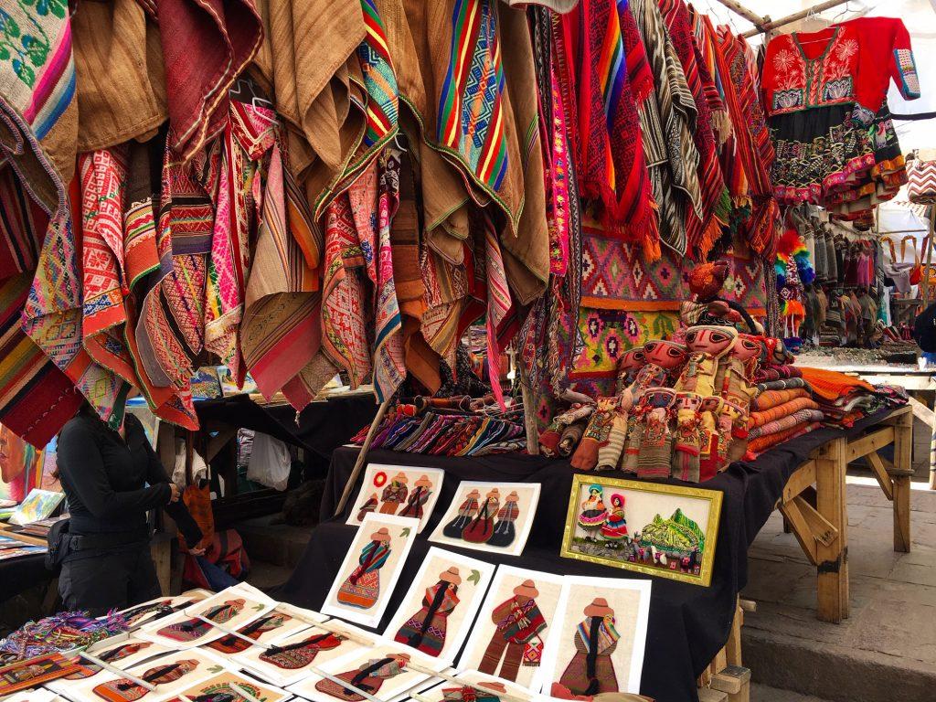 Pisac Market in Cusco, Peru
