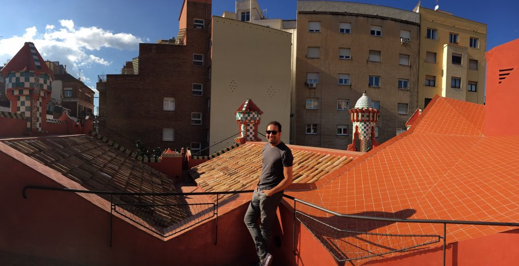 Rooftop of Casa Vicens