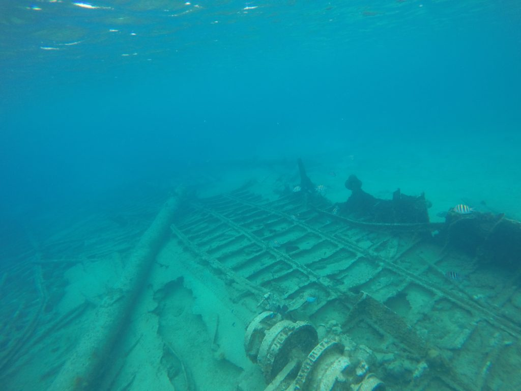 Wreck of the Cali, Grand Cayman