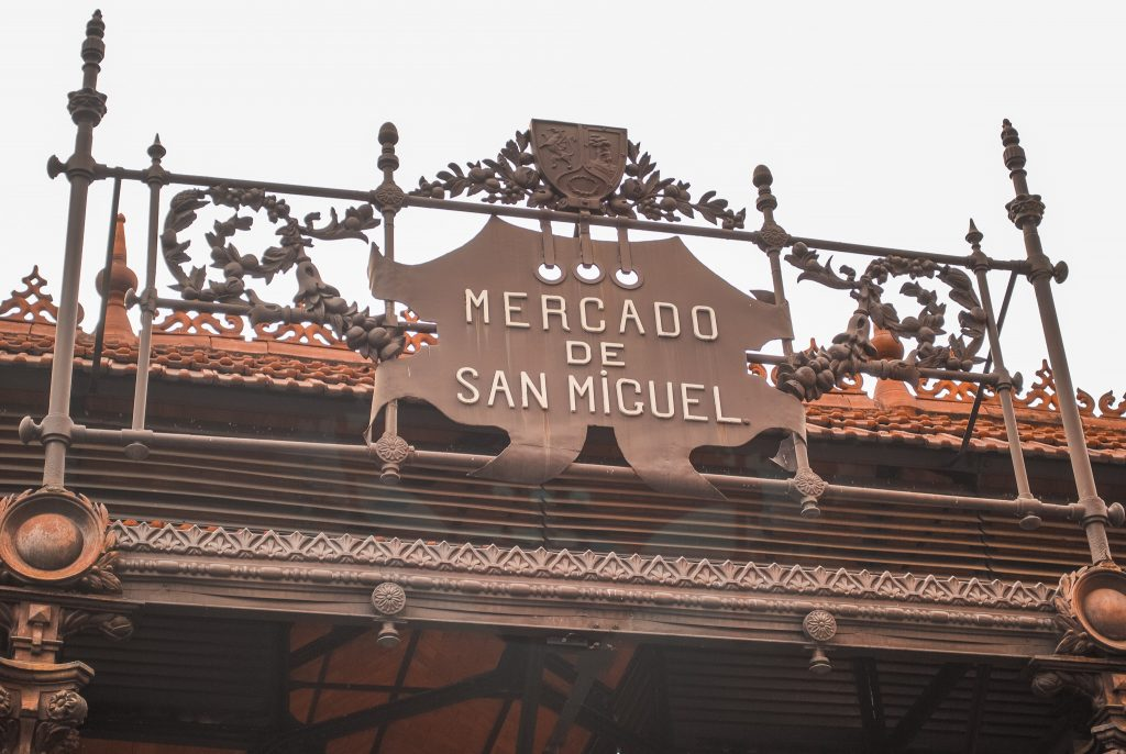 Eat at Mercado de San Miguel in Madrid