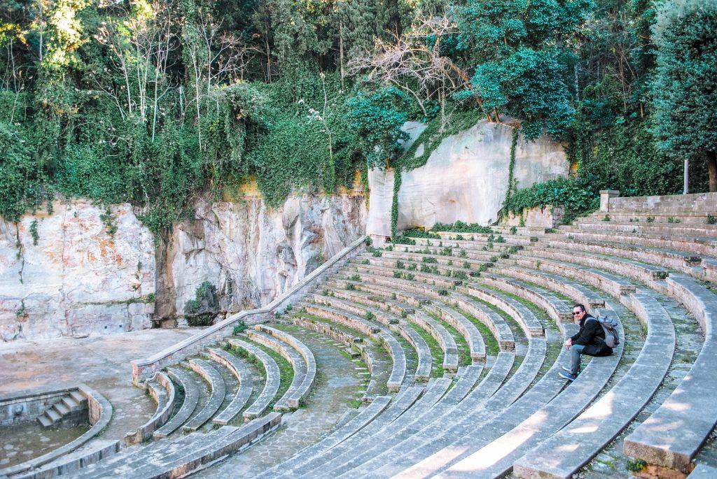 Teatre Grec at Montjuic Park, Barcelona