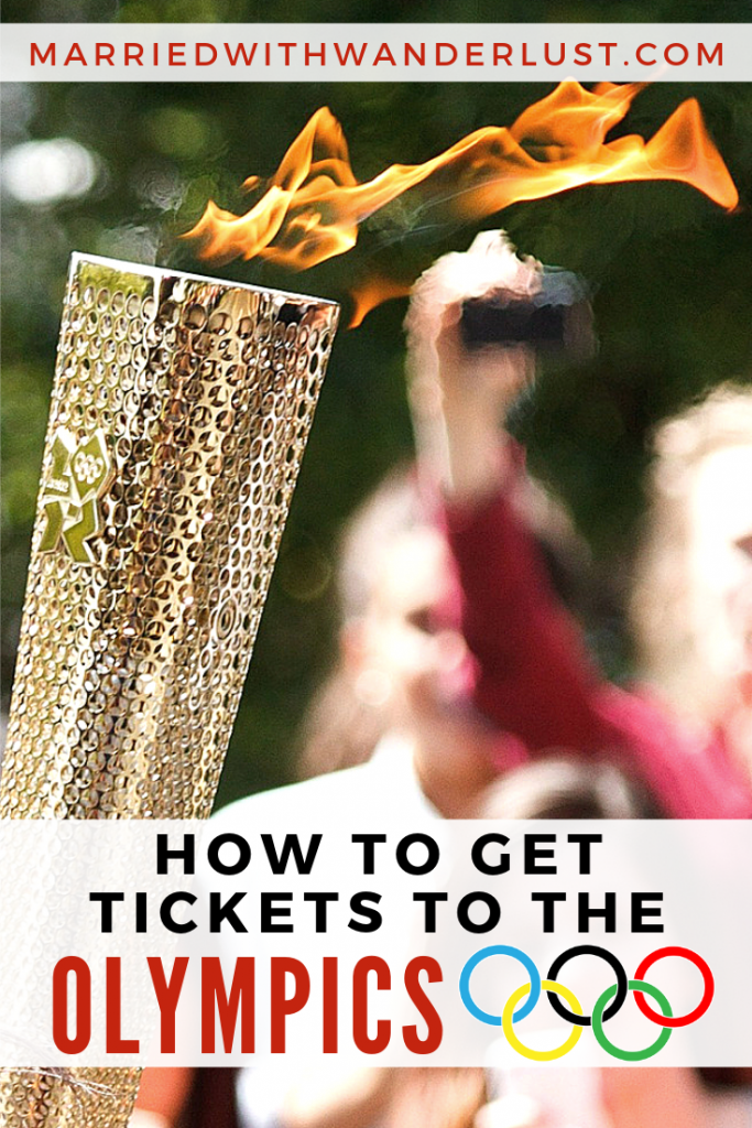 How to get tickets to the Olympic games