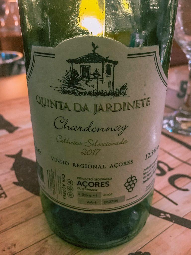 Azorean Chardonnay