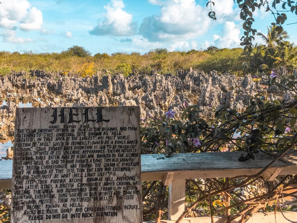 The story of Hell, Grand Cayman