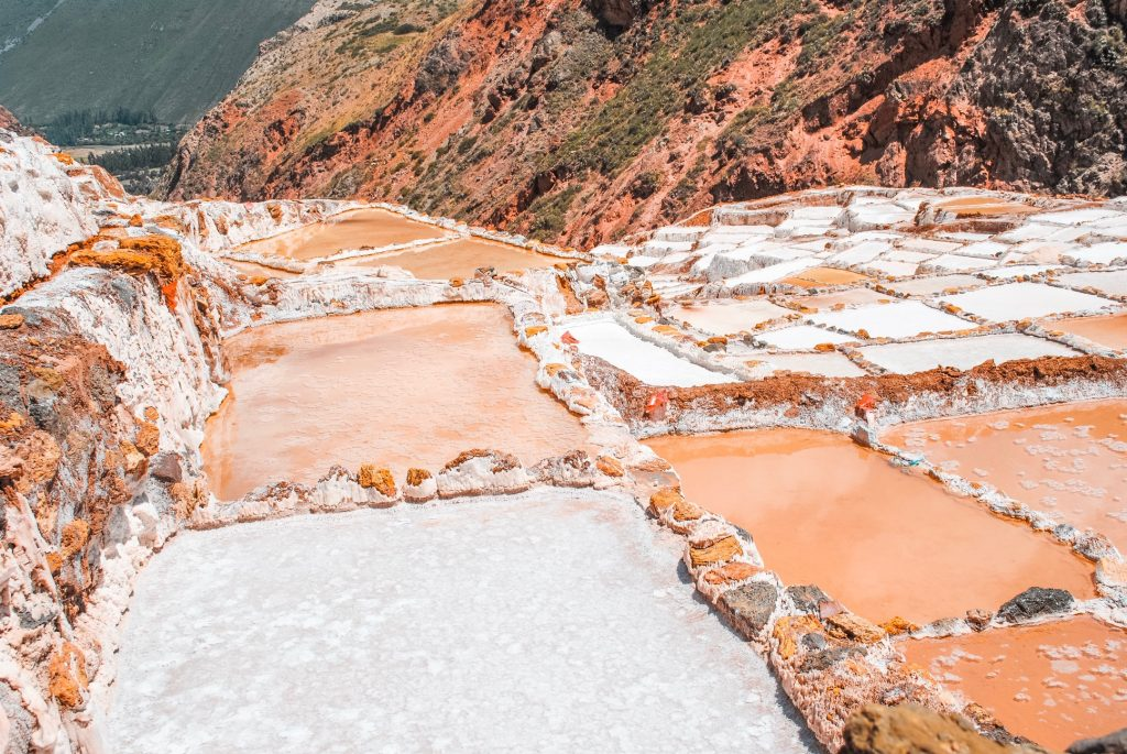 Maras Salt Mines in Sacred Valley, Peru