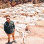 Standing by the Maras Salt Mines