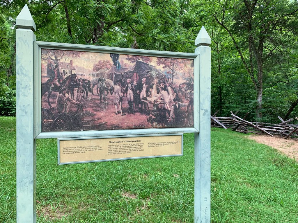 General George Washington's Headquarters at Yorktown Battlefield