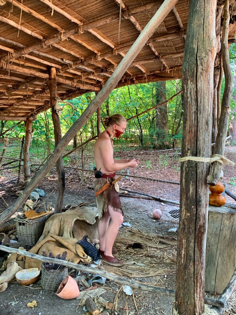 Powhatan Indian Village at Jamestown Settlement