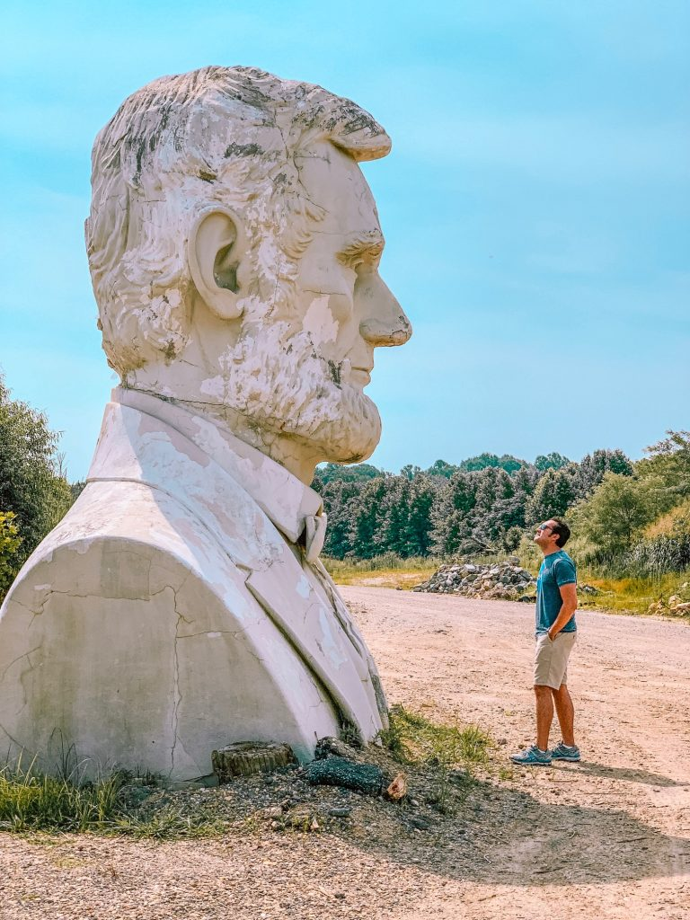 Visit the Presidents Heads in Croaker, Virginia