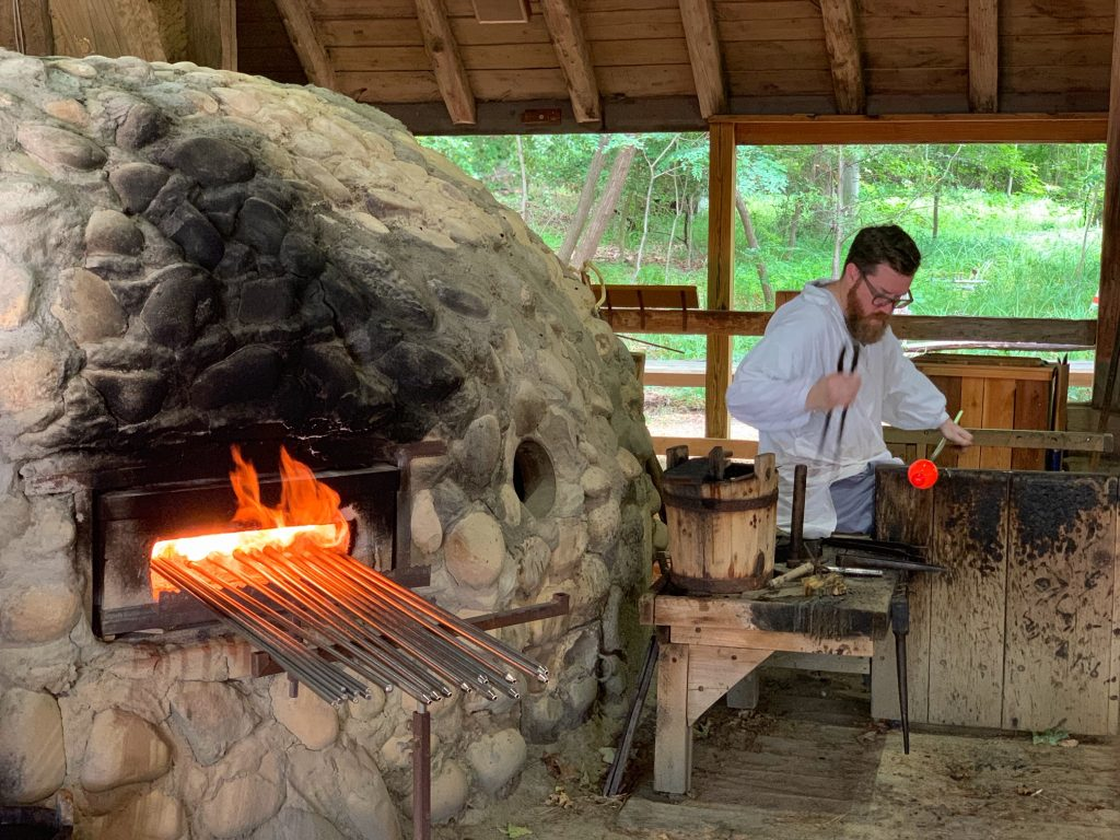 Watch a glassblowing demonstration at Jamestowne