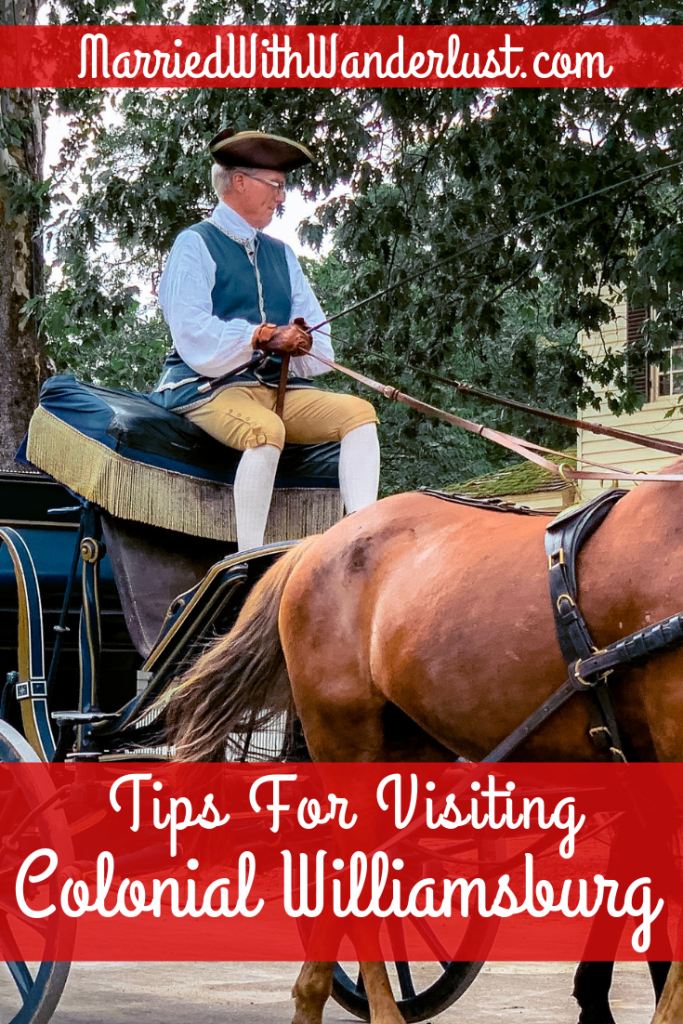 Tips for Visiting Colonial Williamsburg