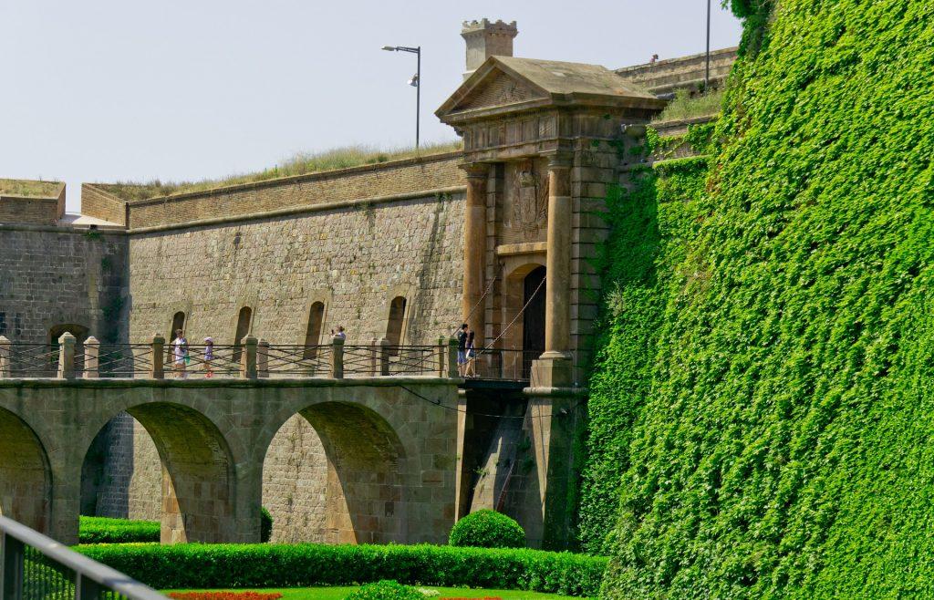 Montjuïc Castle in Barcelona