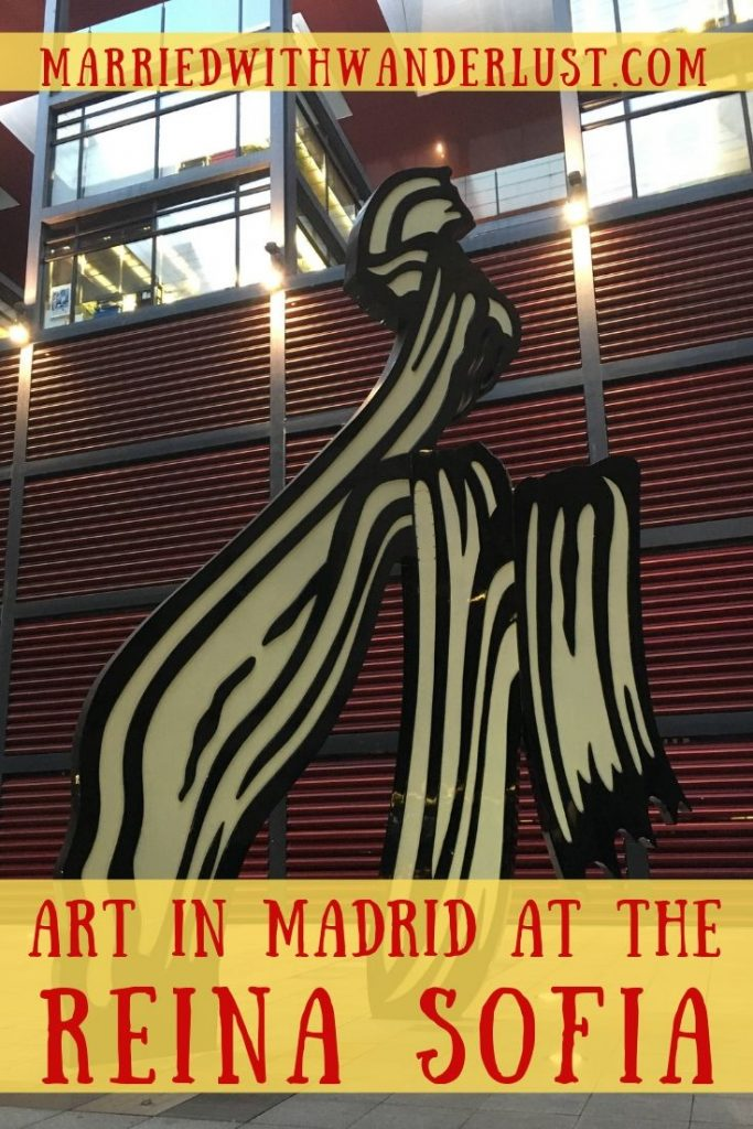 Exploring art in Madrid at the Reina Sofia