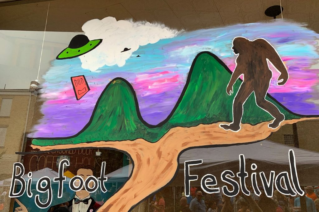 Big Foot Festival in Marion, NC