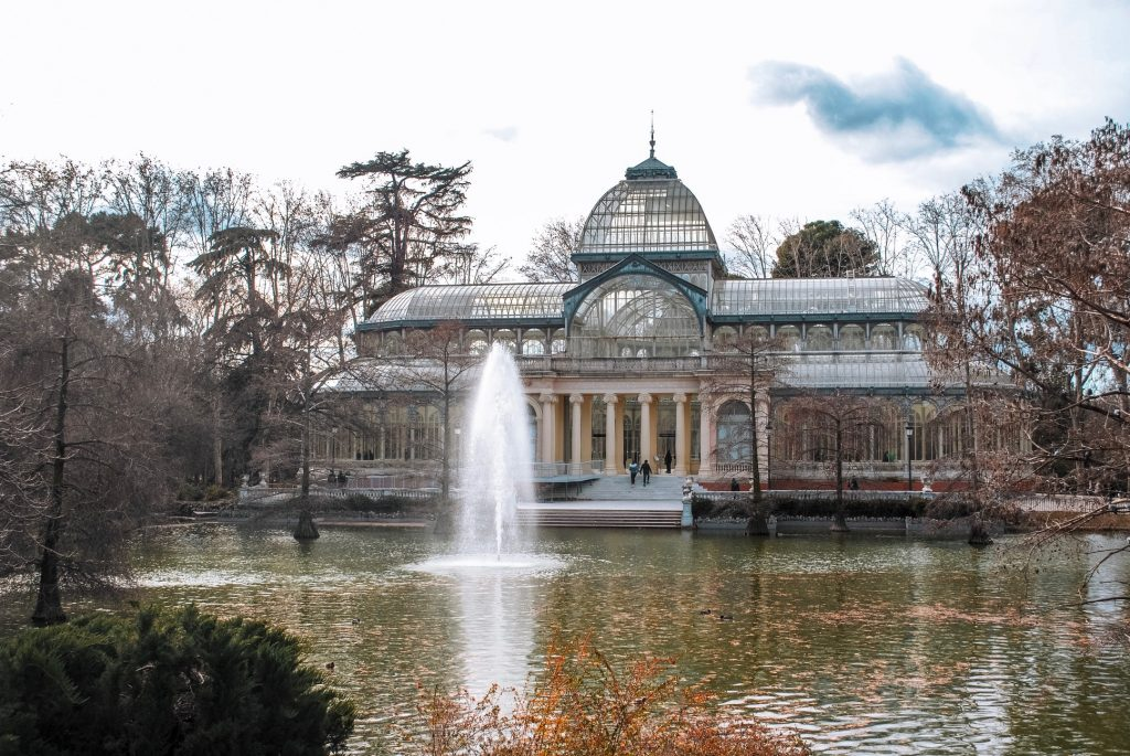 Crystal Palace at Madrid's Retiro Park