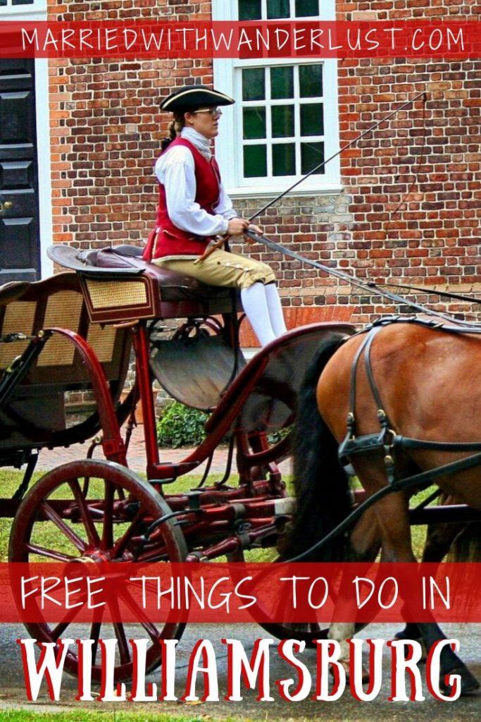 Free Ideas for Williamsburg, Virginia