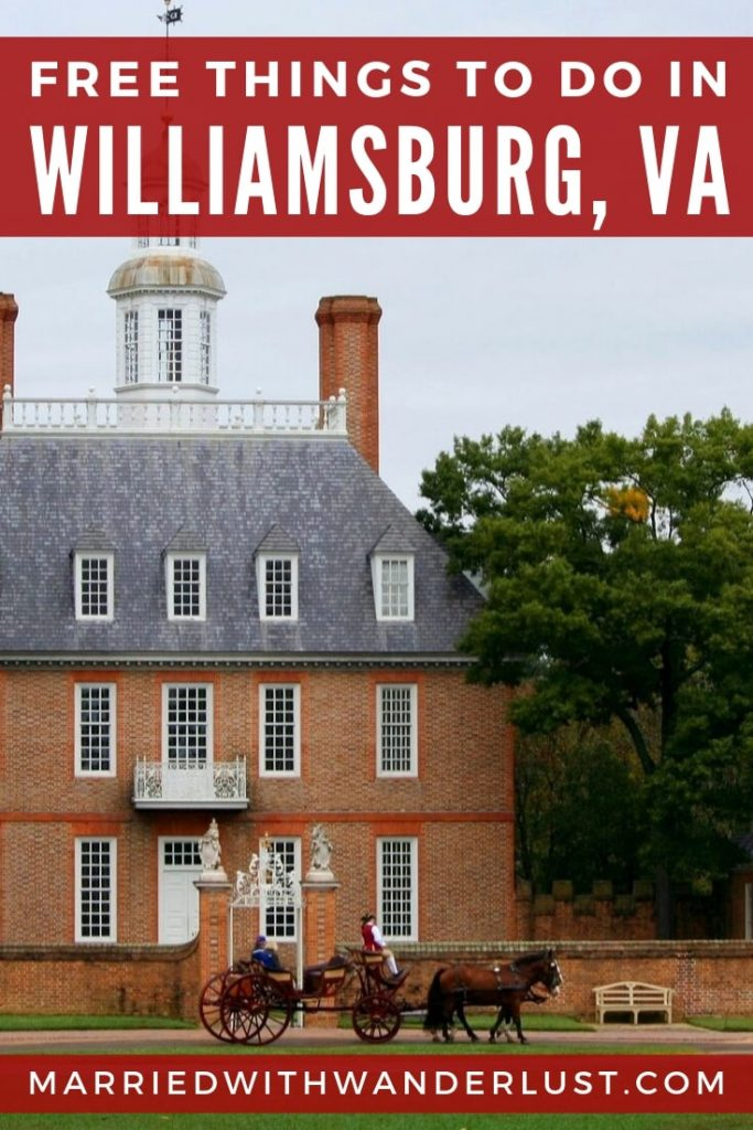 Free Things to Do in Williamsburg