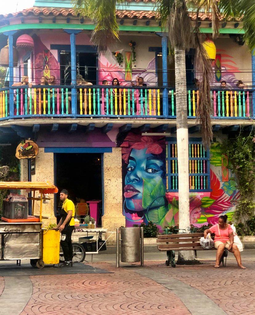 Restaurante Palenqueras in Getsemani, Cartagena
