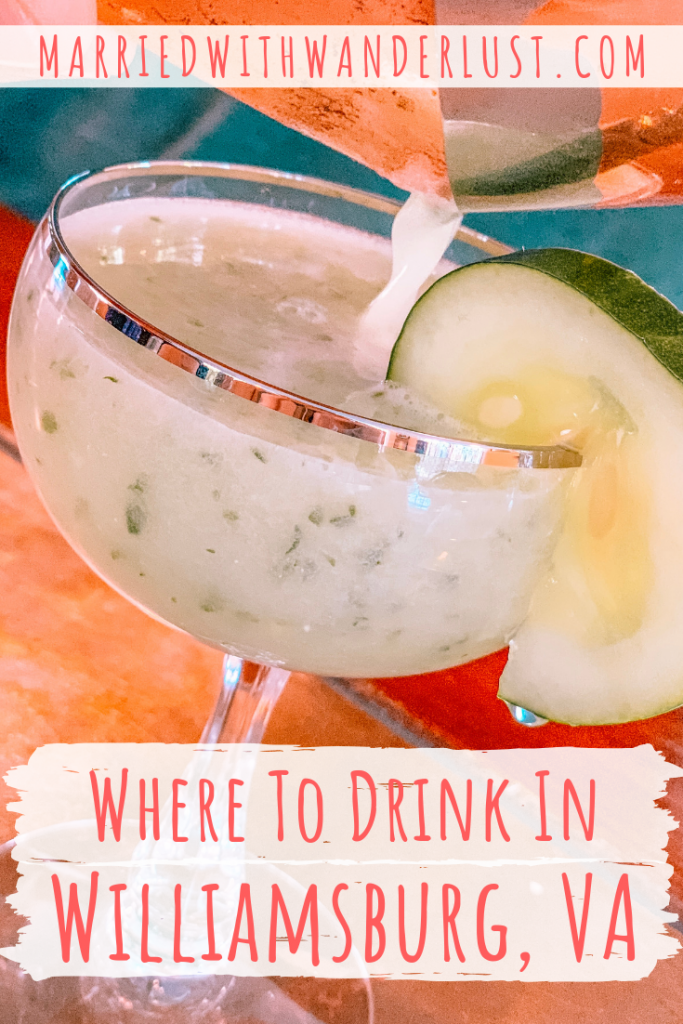 Where to Drink in Williamsburg, Virginia