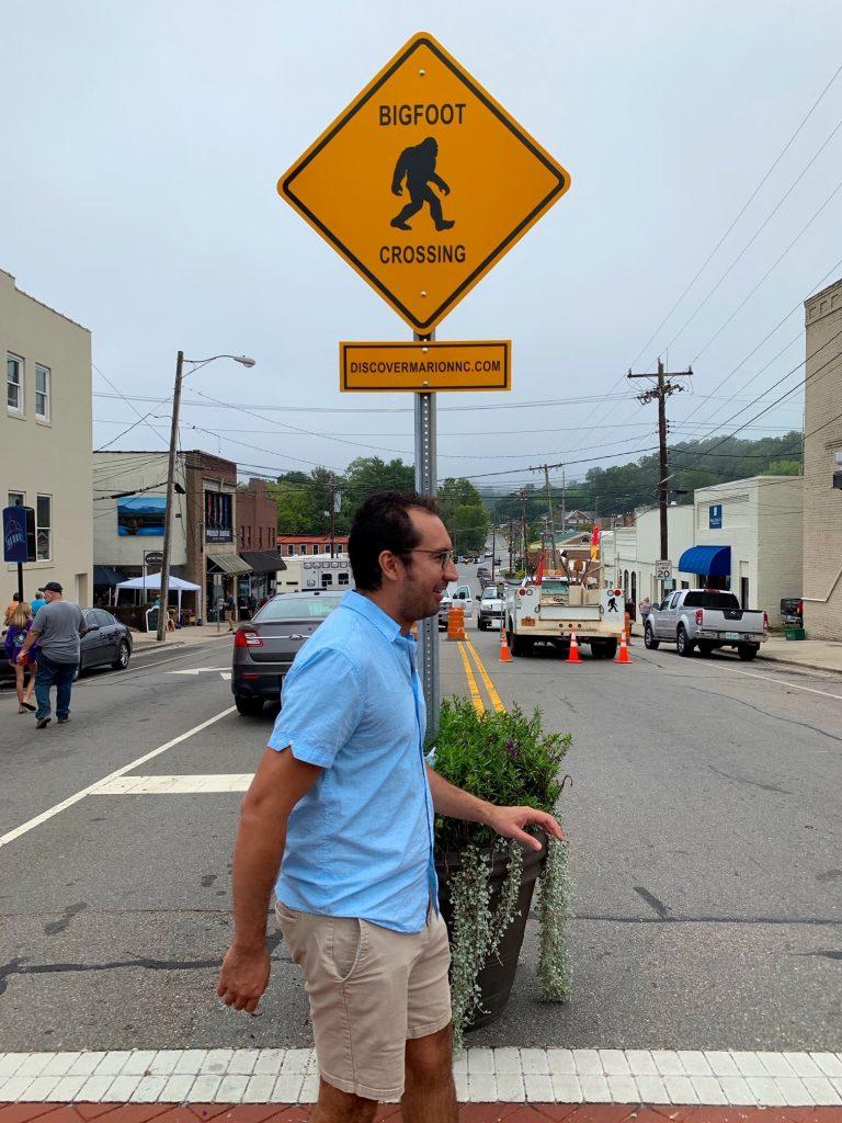 Bigfoot Crossing in Marion, NC