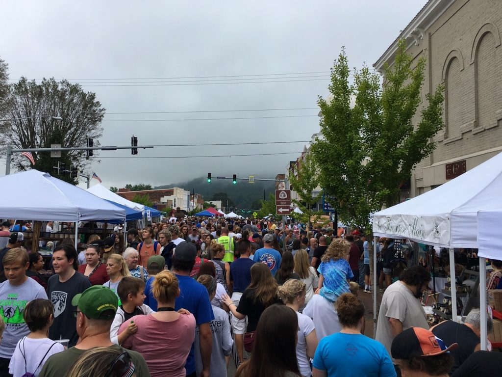 WNC Bigfoot Festival in Marion, North Carolina
