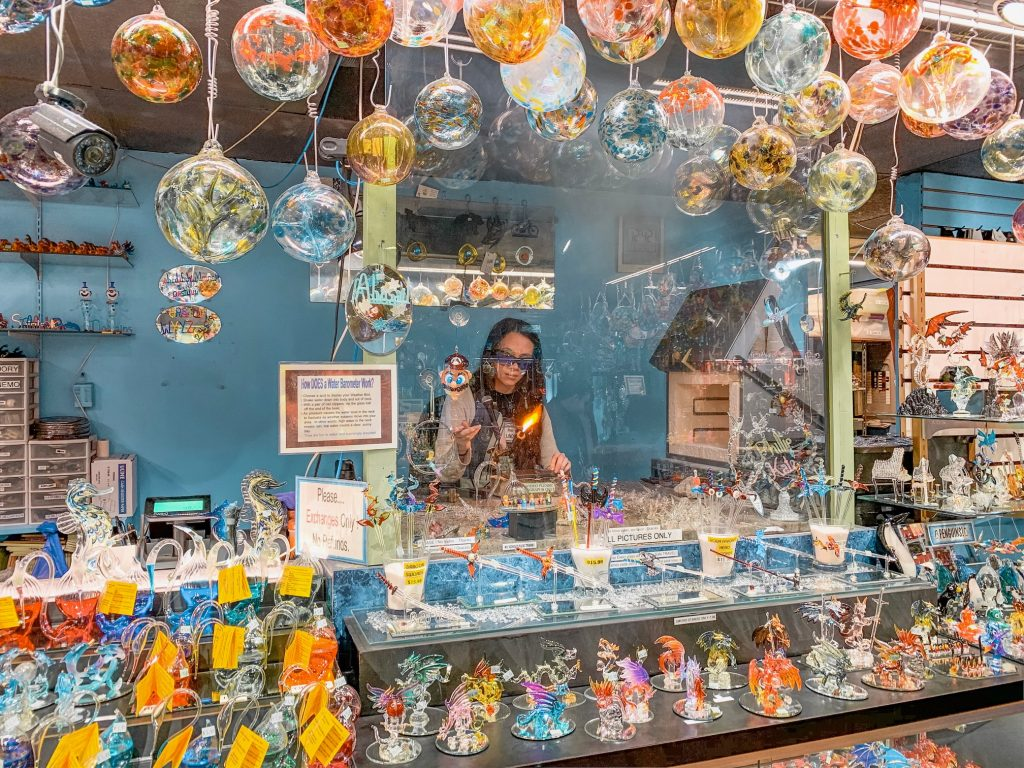 Glassblowing Shop in Helen, GA