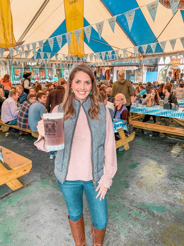 Helen, GA Oktoberfest tent