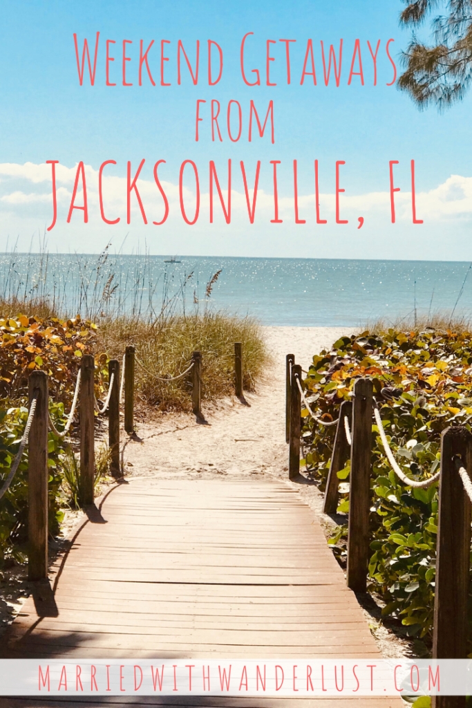 Weekend getaways from Jacksonville