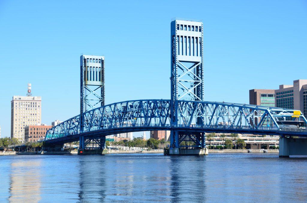 Bridge in downtown Jacksonville, FL