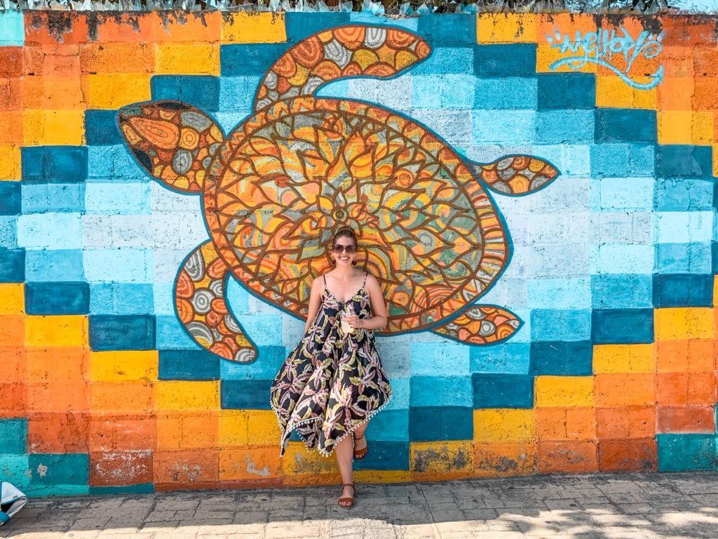 Street art in Cozumel