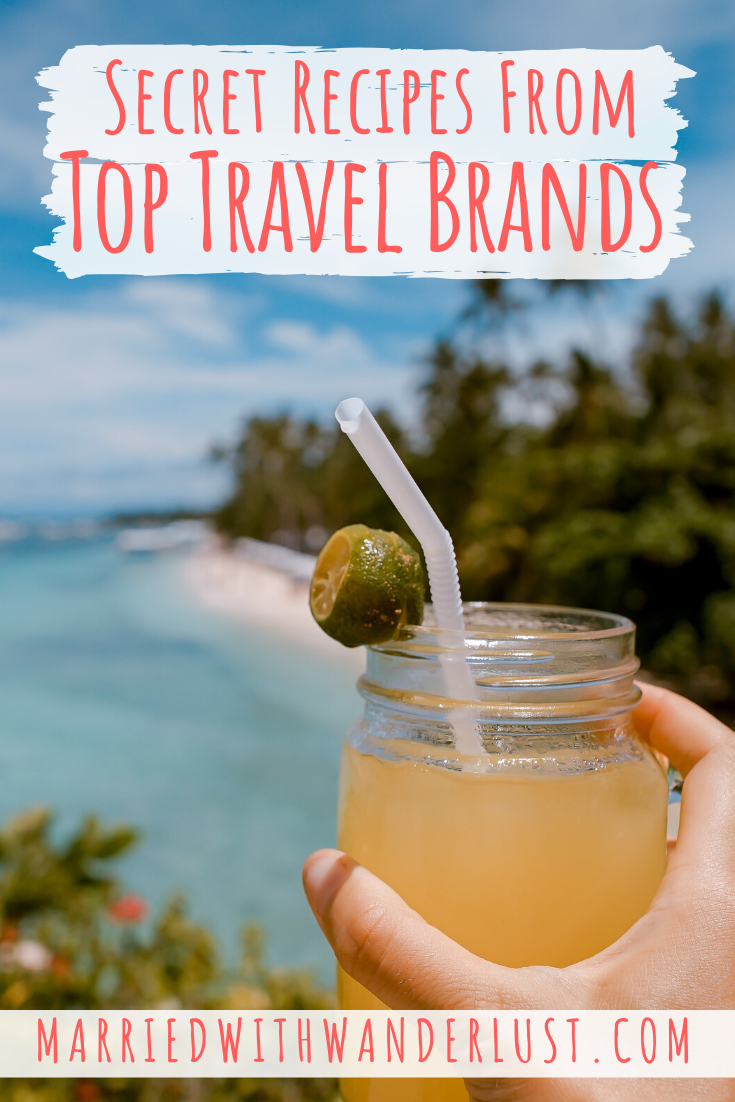 Secret recipes from top travel brands - Married with Wanderlust