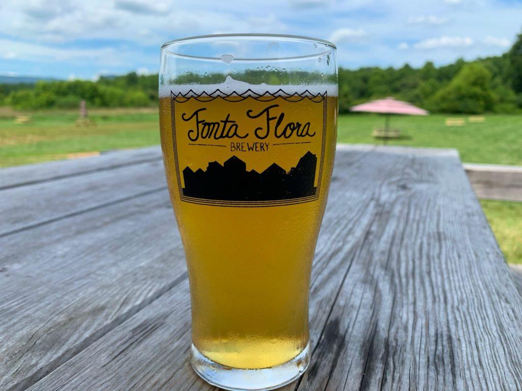 Beer at Fonta Flora Brewery