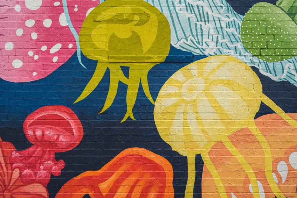 Mural art in Jacksonville