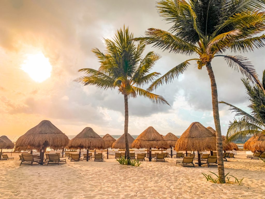 Beach at Excellence Riviera Cancun